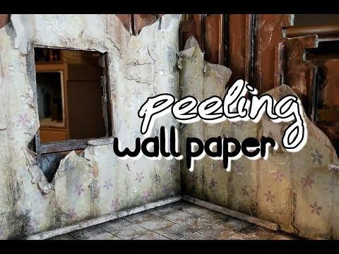 Abandoned Coffee Shop 2: PEELING WALLPAPER