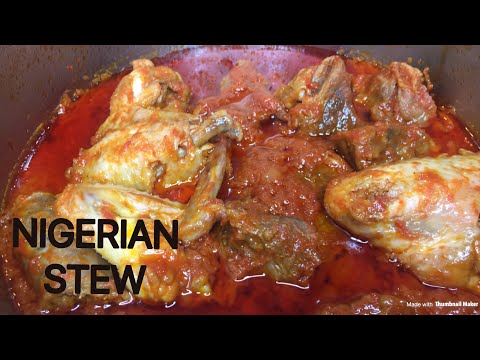 HOW TO MAKE BEST NIGERIAN FRIED TOMATO STEW/ RED STEW RECIPE