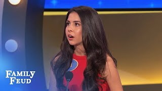 Download OUCH! Imagine if a CRAB bit your...   Family Feud Video