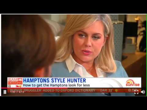 Sunrise Sam Design's:  Hamptons Style Hunter