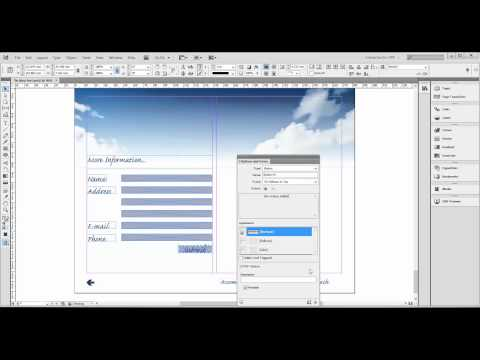 Creating PDF forms with InDesign