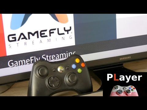 GameFly - streaming games from Amazon Fire TV on Samsung TV - Review [ENG]