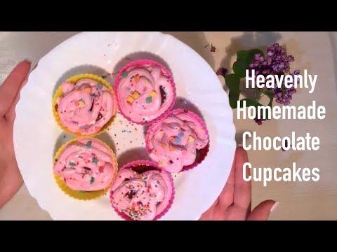 Heavenly Homemade Chocolate Cupcakes Recipe