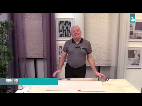 Behind the Blinds with Bob - Caprice Holland Roller Blind
