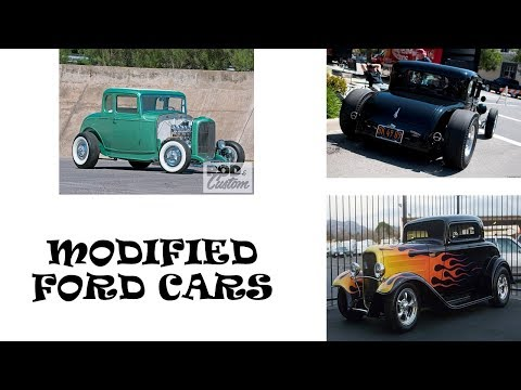 Ford Modified Cars