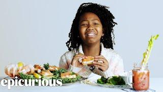 Kids Try 100 Years of Breakfast Foods | Bon Appétit