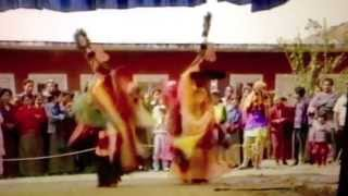Lama Dance clip from documentary TASHI JONG:KHAMPARGAR MONASTERY 1992&1994