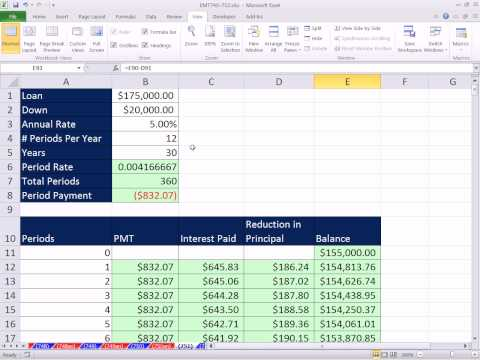 Excel Magic Trick 751: Freeze Panes For Large Workbooks Freeze either a Row, Column, or Both