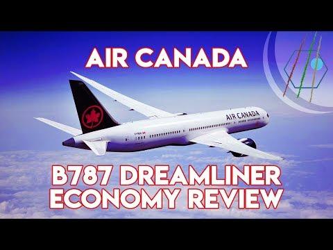 Air Canada B787 Dreamliner Economy Class Review