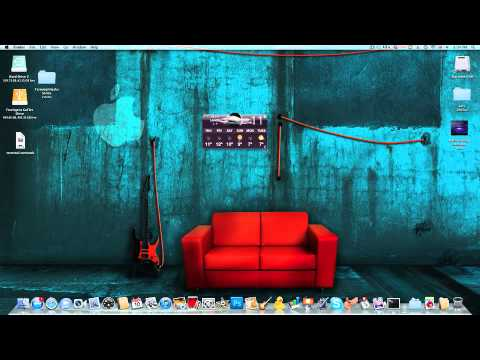 Get Any Dashboard Widget On Your Home Screen Mac - Hack
