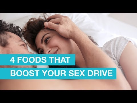 4 Foods that Boost Your Sex Drive