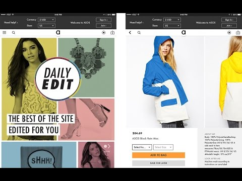 Best Fashion Apps for iPhone and iPad