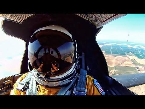 U2 Spy Plane • Cockpit View At 70,000 Feet