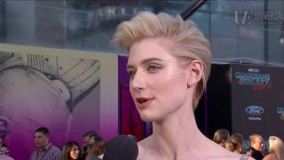 Elizabeth Debicki on Joining the MCU at the Guardians of the Galaxy Vol. 2 Red Carpet Premiere