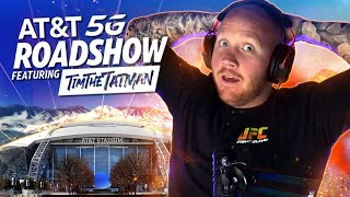TIMTHETATMAN STREAMING WARZONE FROM AT&T STADIUM FOR THE AT&T 5G ROADSHOW