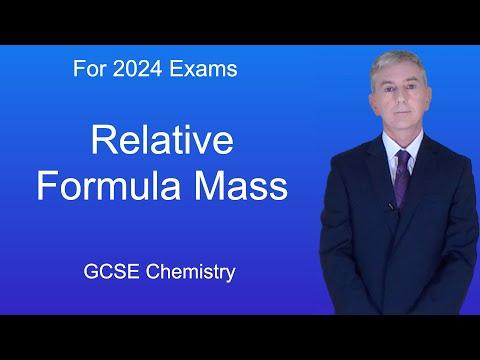 GCSE Science Chemistry (9-1) Relative Formula Mass