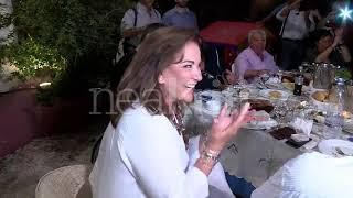 Το γλέντι της Ντόρας Μπακογιάννη στη Χαλέπα