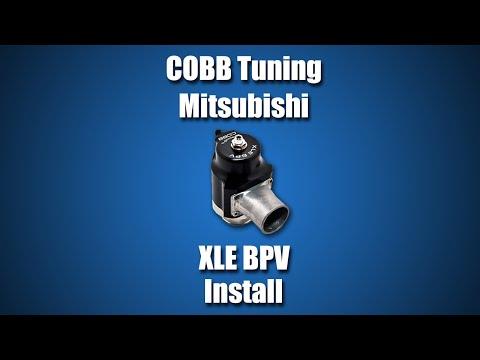 COBB Mitsubishi XLE BPV Install Video