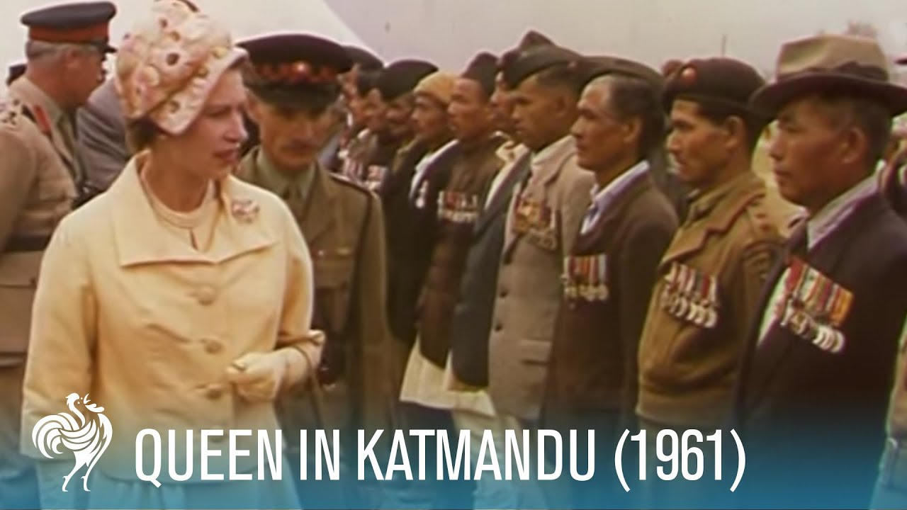 Queen Elizabeth II on a Tiger Shoot in Katmandu (1961) | British Pathé