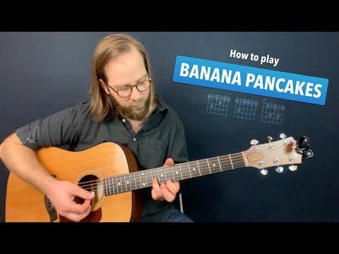 🎸 Banana Pancakes • Jack Johnson guitar lesson w/ chords & intro tab