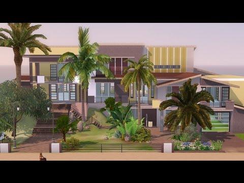 The Sims 3 - House Building - Ocean Sunrise