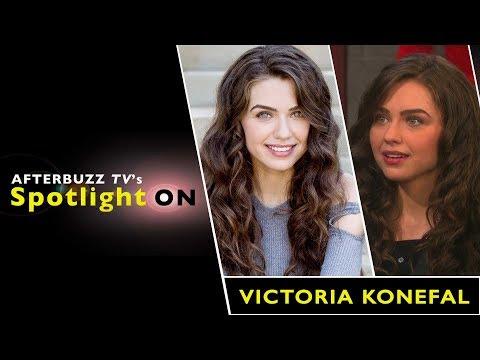 Victoria Konefal Interview | AfterBuzz TV's Spotlight On