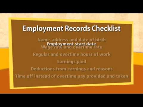 2-1: Employment Records & Statement of Earnings