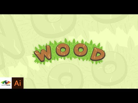 Adobe Illustrator   Text Logo For Game Design Easy And Quick (Game Art Tutorial)