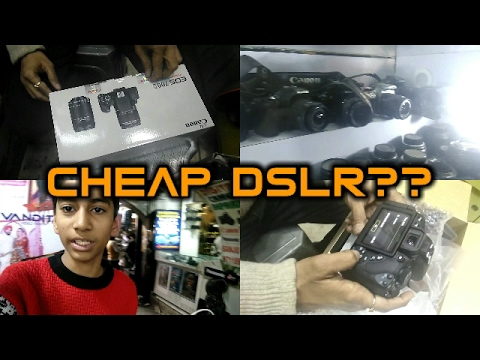 Cheapest DSLR Market in India I Chandni Chowk I Second Hand DSLR
