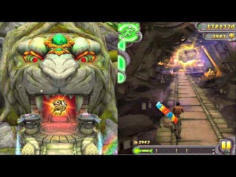 Temple Run 2 : Lost Jungle Gameplay On IPad