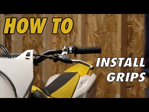 How to Change Motocross Grips