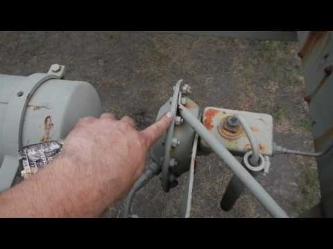 Air Over Hydraulic brakes, a simple explanation on a military trailer, M200A1