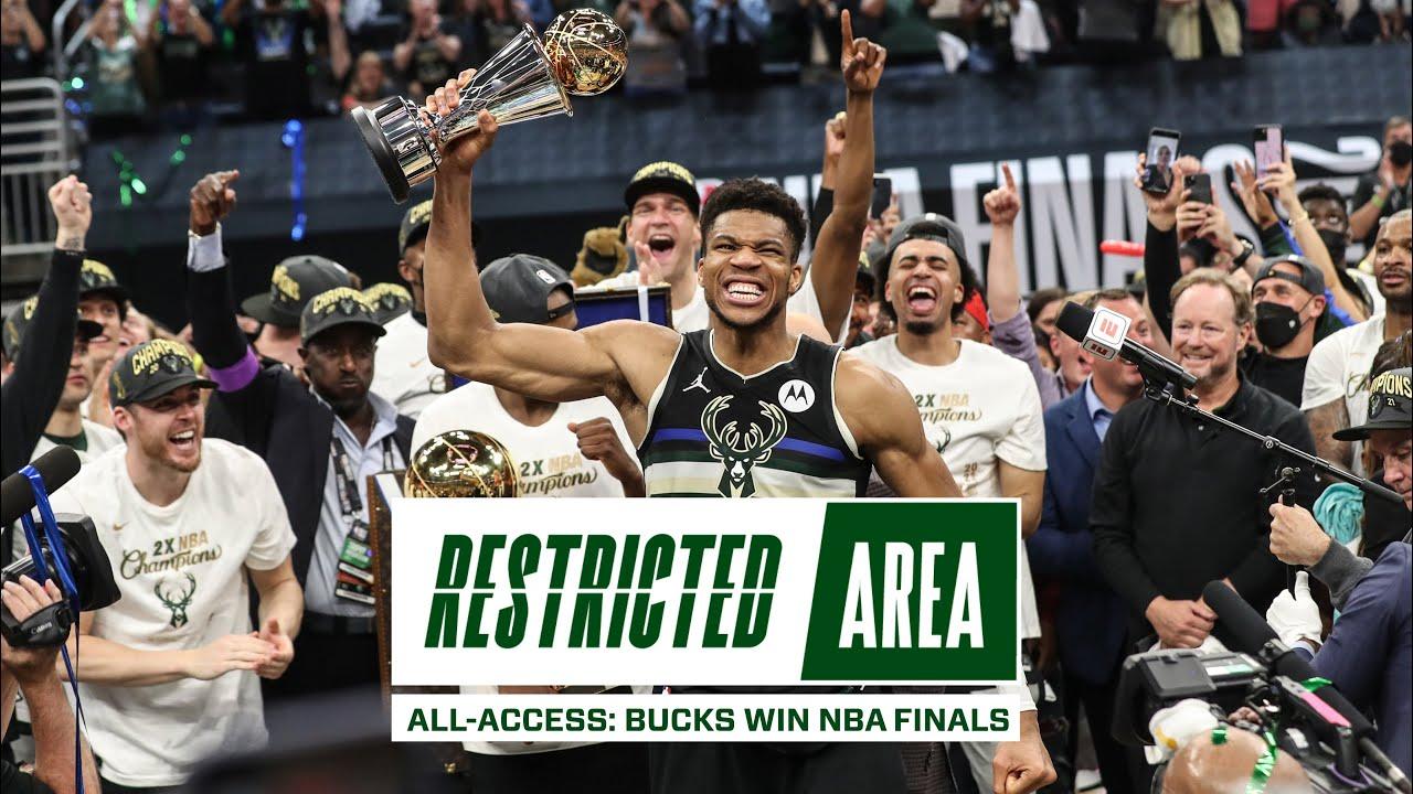 All-Access: Bucks Win NBA Championship   Giannis Drops 50 Points, Finals Locker Room Celebration