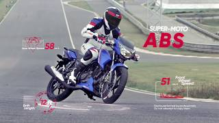 The All New TVS Apache RTR Series - Now with Super-Moto ABS