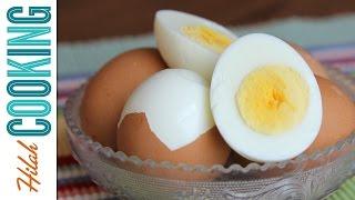 How To Make Easy Peel Boiled Eggs Hilah Cooking