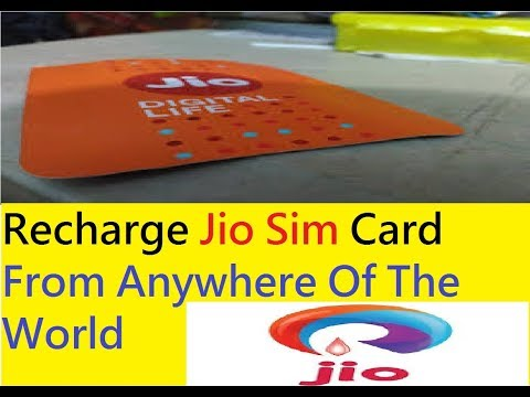 Jio Sim Recharge : How To Recharge Online