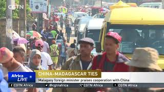 CGTN sits down with Malagasy FM to discuss China-Madagascar cooperation