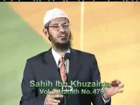 There is no difference between men and women Prayer, Salat, Namaz By Dr Zakir Naik