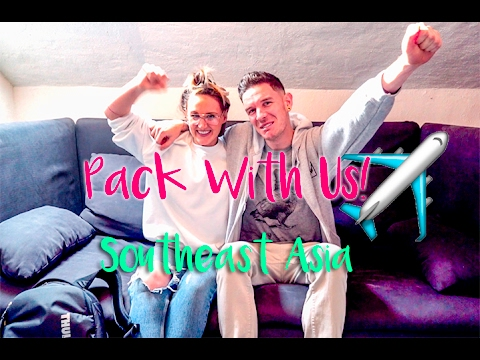 PACK WITH ME (US!) : LONG TRIP TO SOUTHEAST ASIA