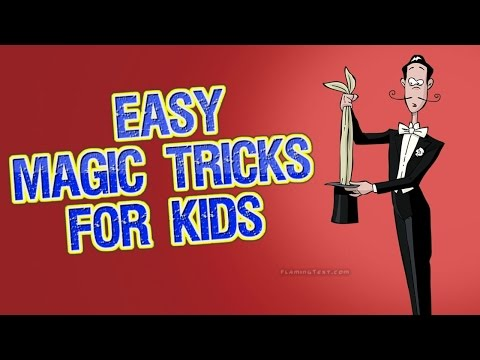COOL MAGIC TRICK - How to do MAGIC Tricks with your Hands