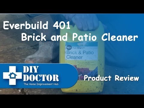How to clean brickwork and patio slabs