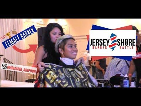 I WAS A MODEL AT A BARBER BATTLE!!! Jersey Shore Barber Battle | summer vlogs 004