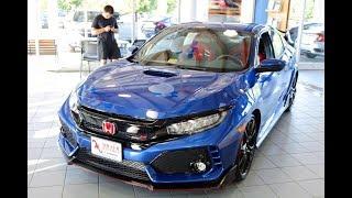2017 Honda Civic Type R    Exhaust start-up and rev