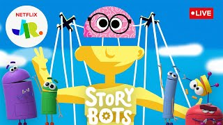 🔴 LIVE! Stories on the Human Body 🧠 Read Along w/ StoryBots 🤖 Netflix Jr