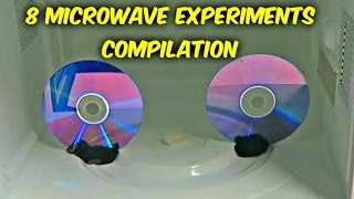 8 Microwave Experiments - Compilation
