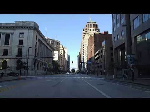 Driving by Cleveland,Ohio