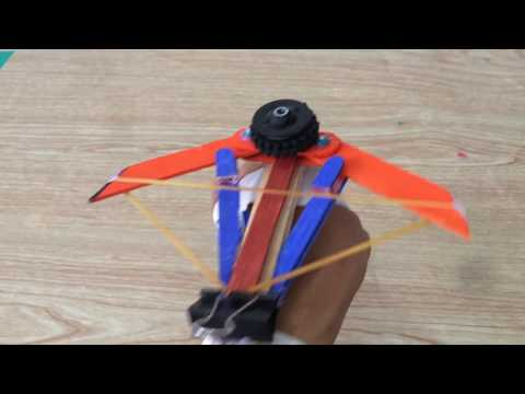 How to make the Phantom Blade (Assassins Creed) V2.0 | wrist Crossbow