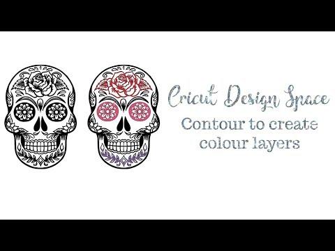 Cricut Design Space - Contour to create Layers