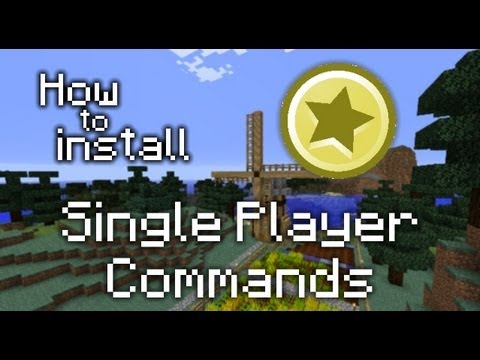 How to install WorldEdit and Singleplayer Commands for Minecraft