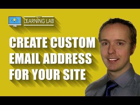 Create A Custom Email Address For Your Website Via cPanel | WP Learning Lab